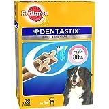 Pedigree Dentastix (Value Pack) Dental Care Dog Treat for Adult Large Breed(25 kg+) Dogs, 1.08 kg Monthly Pack (28 Sticks)