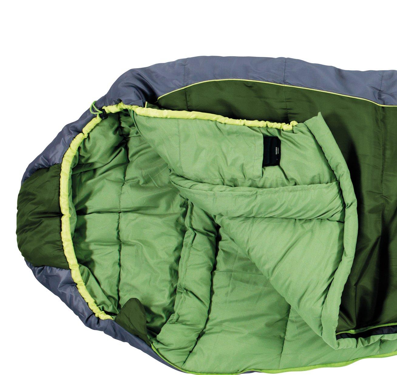 Easy Camp Mumienschlafsack Orbit 400 - Saco de Dormir Momia para Acampada, Color Verde, Talla 38: Amazon.es: Deportes y aire libre