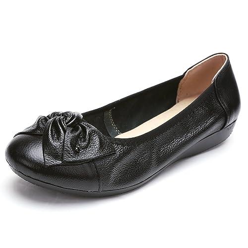 a25a63c3e1d1d ODEMA Mocasines de Charol para Mujer  Amazon.es  Zapatos y complementos