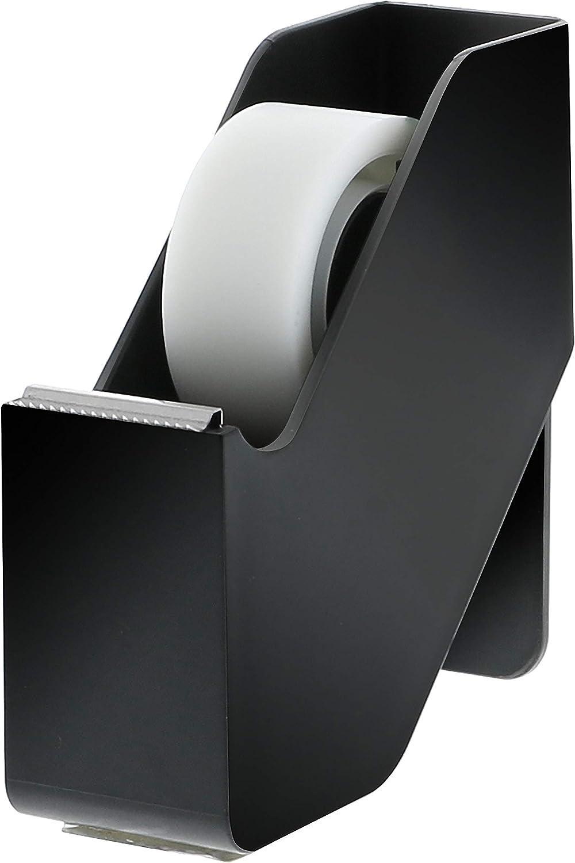 Bostitch Office Konnect Desktop Tape Dispenser For Home or Office - Invisible Tape, Non-Skid Base, Black Finish, Model: KT-TAPE-BLK