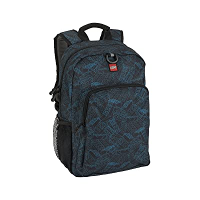 LEGO Kids' Heritage Backpack, Black, One Size | Casual Daypacks