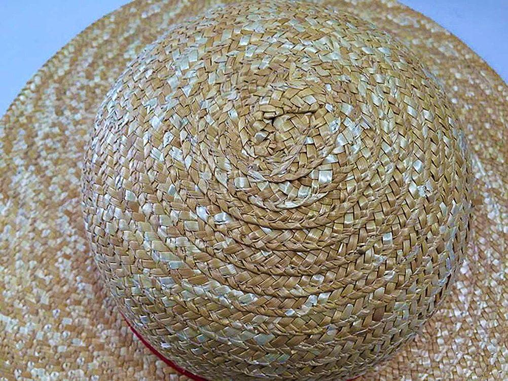 Drawihi Damen Herren Sonnenhut Strandhut Anti-UV Sonnenschutz Strohhut Sommerhut Fischerhut L/ässige M/ütze 56-60 cm