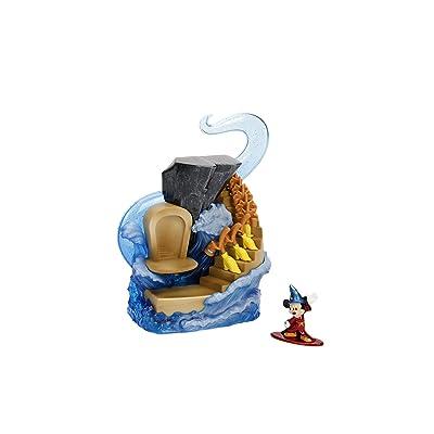 Jada Nano Metalfigs 99984 Toys Disney\'s Scene Display with Mickey Die Cast Figure, Color, Multicolor: Toys & Games [5Bkhe0702174]