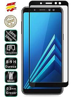Todotumovil Protector de Pantalla Samsung Galaxy A6 Plus Negro ...
