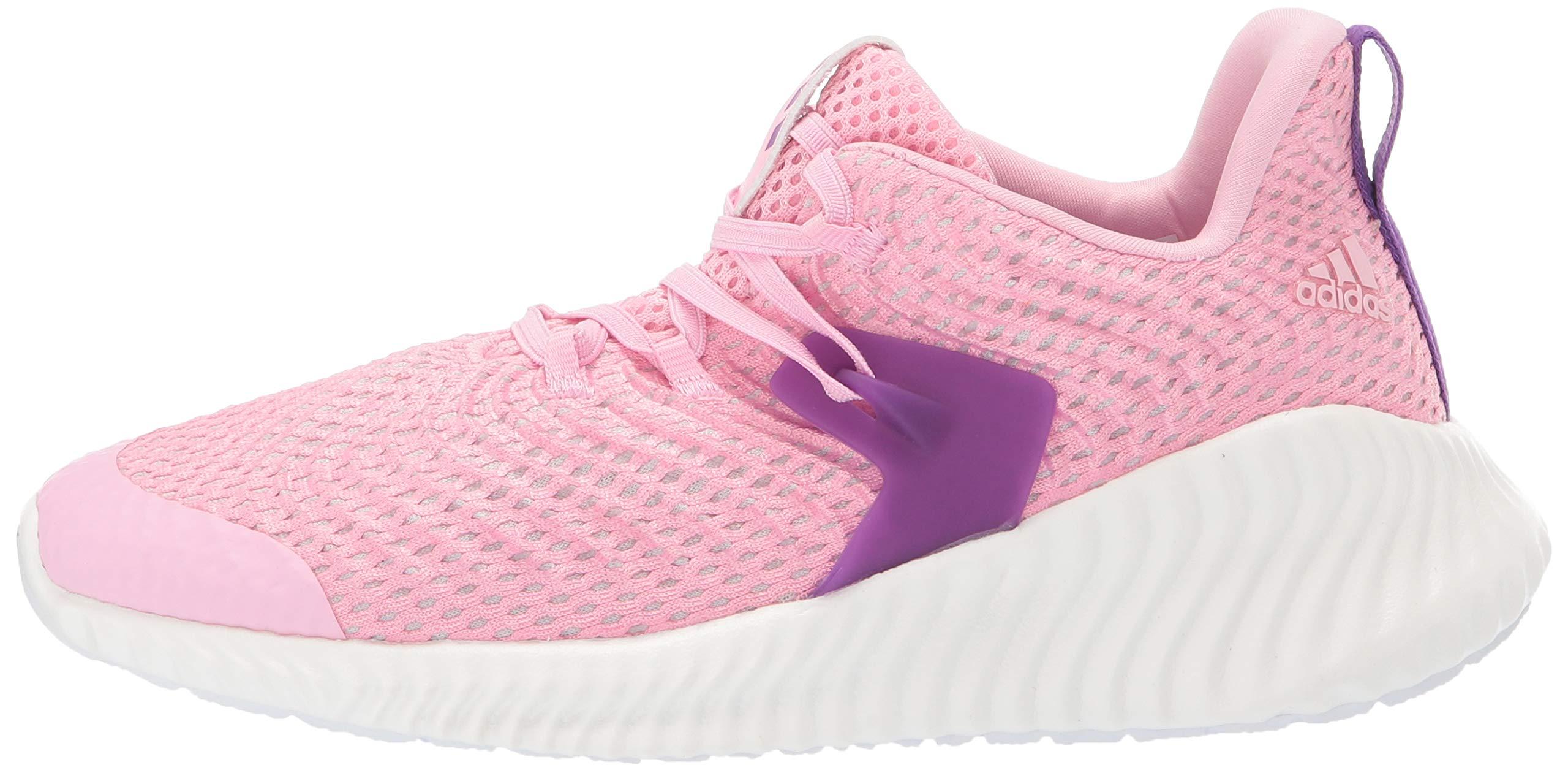 Adidas Kids Alphabounce Instinct, true pink/active purple/cloud white 2.5 M US Little Kid by adidas (Image #5)