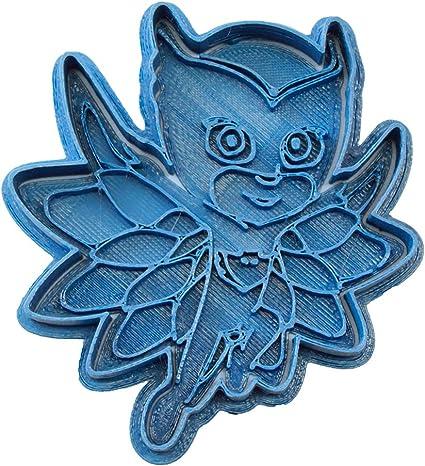Cuticuter PJ Masks Owlette Entera Cortador de Galletas, Azul, 8x7x1.5 cm