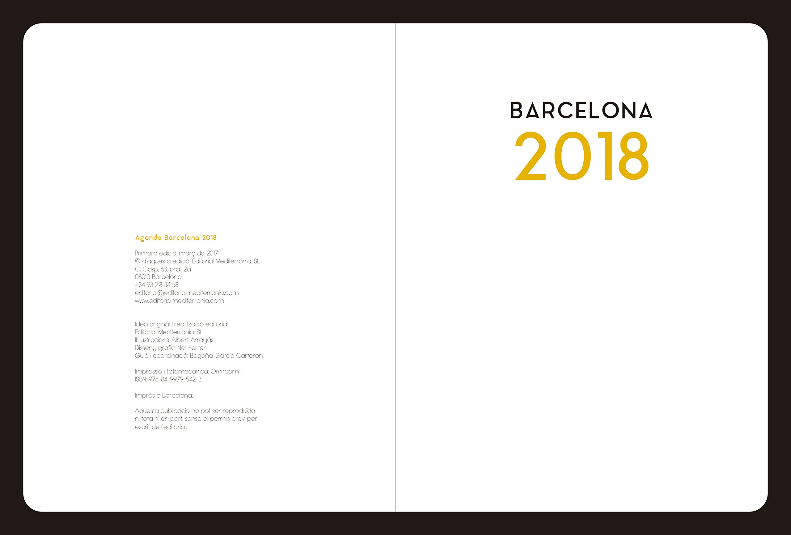 Agenda Barcelona 2018: Amazon.es: Albert Arrayás: Libros