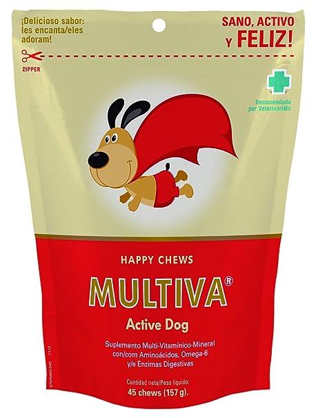 Multiva MP002 Active Dog Multivitamínicos para Perros