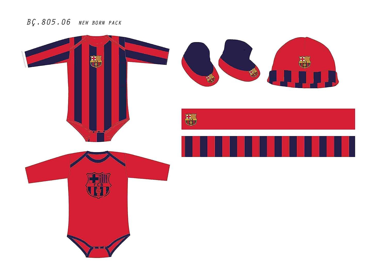 PACK 5 PIEZAS FC.BARCELONA RECIEN NACIDO: Amazon.es: Ropa y accesorios