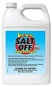 Star brite Salt Off Protectant w/PTEF - Salt Remover, Corrosion Inhibitor & Motor Flush