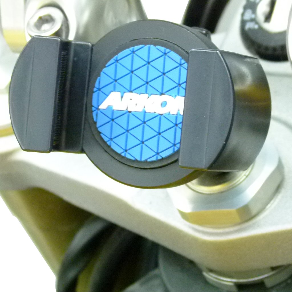 BuyBits 13mm Stem Moroebike Phone Mount & Deluxe Cradle fits Suzuki GSX1300R Hayabusa