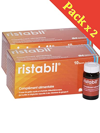 ristabil Solution buvable complemento alimenticio Natural a base de jalea real, de extraits de Eleutherococcus