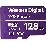 Western Digital WDD128G1P0A Hafıza Kartı 128 GB MicroSDXC - Hafıza Kartı (128 GB, Türkçe MB/s, Mor)