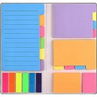 Notas Adhesivas, TYC Notas Adhesiva con 402 piezas Kit Porta Notas Priorizar Notas Adhesivas Divisoras con Diferentes…