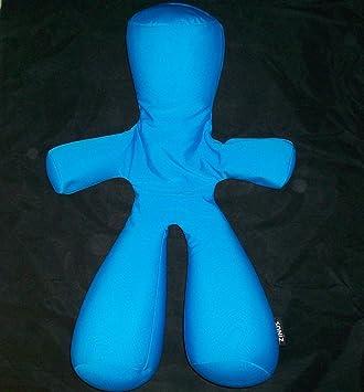 Amazon.com: zinus Microbead Almohada Hombre – -Azul Plush ...