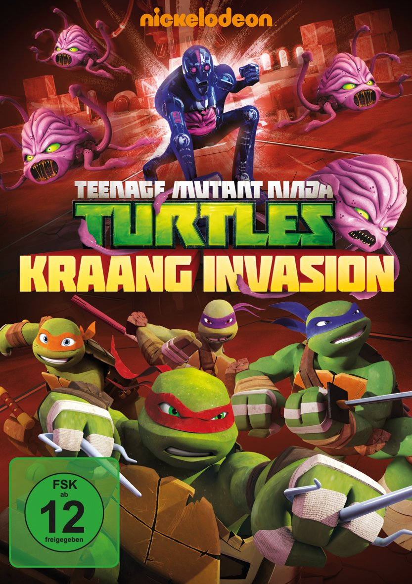 Teenage Mutant Ninja Turtles - Kraang Invasion Alemania DVD ...
