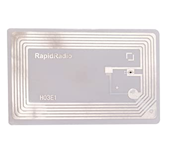 Amazon com: RapidRadio HF RFID Library Book Tag - Pack of 10