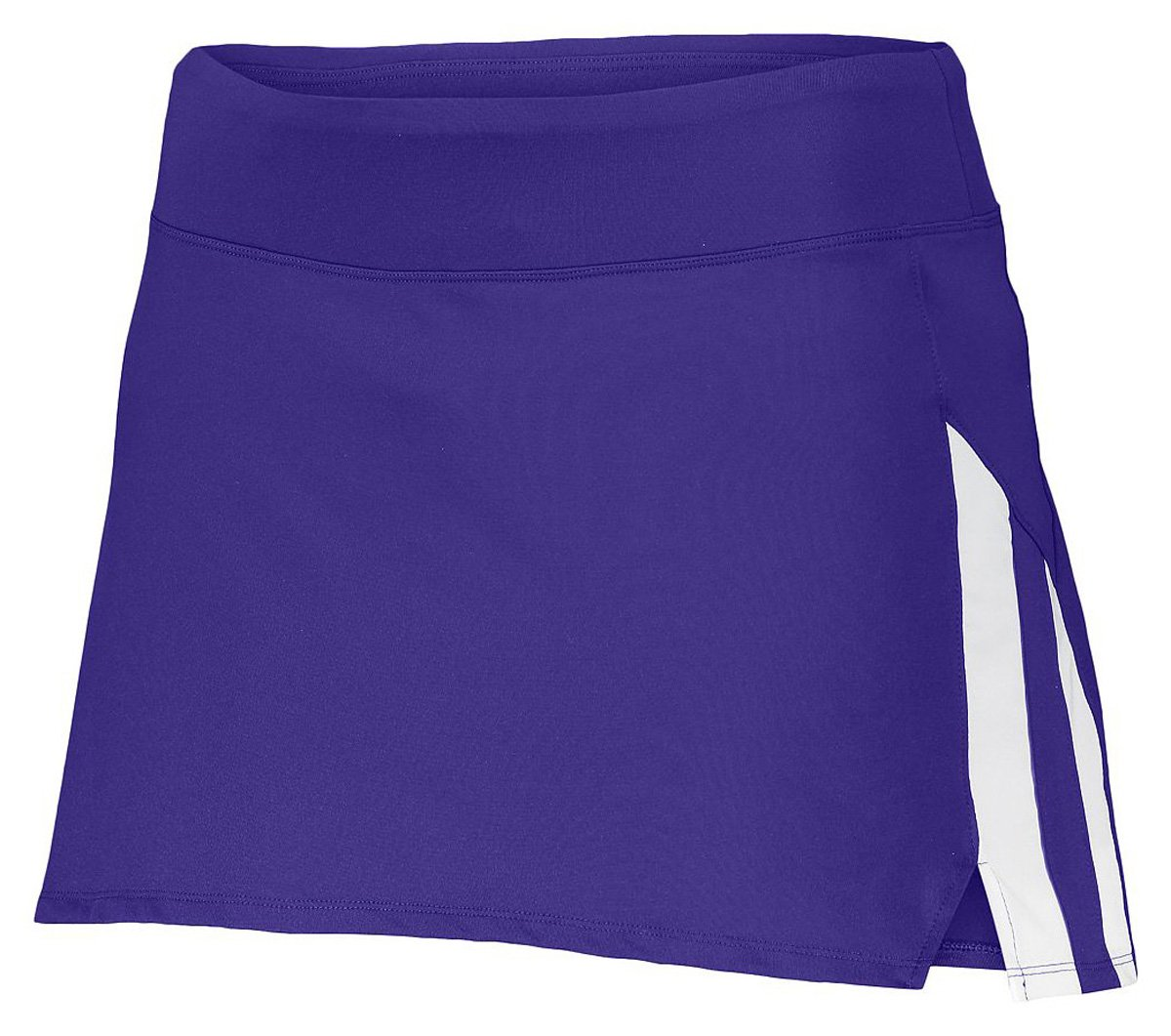 Augusta LADIES FULL FORCE SKORT PUR/WHI XL