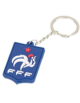 f.f.f selección de fútbol de Francia FFF Llavero, Metal, 18 ...