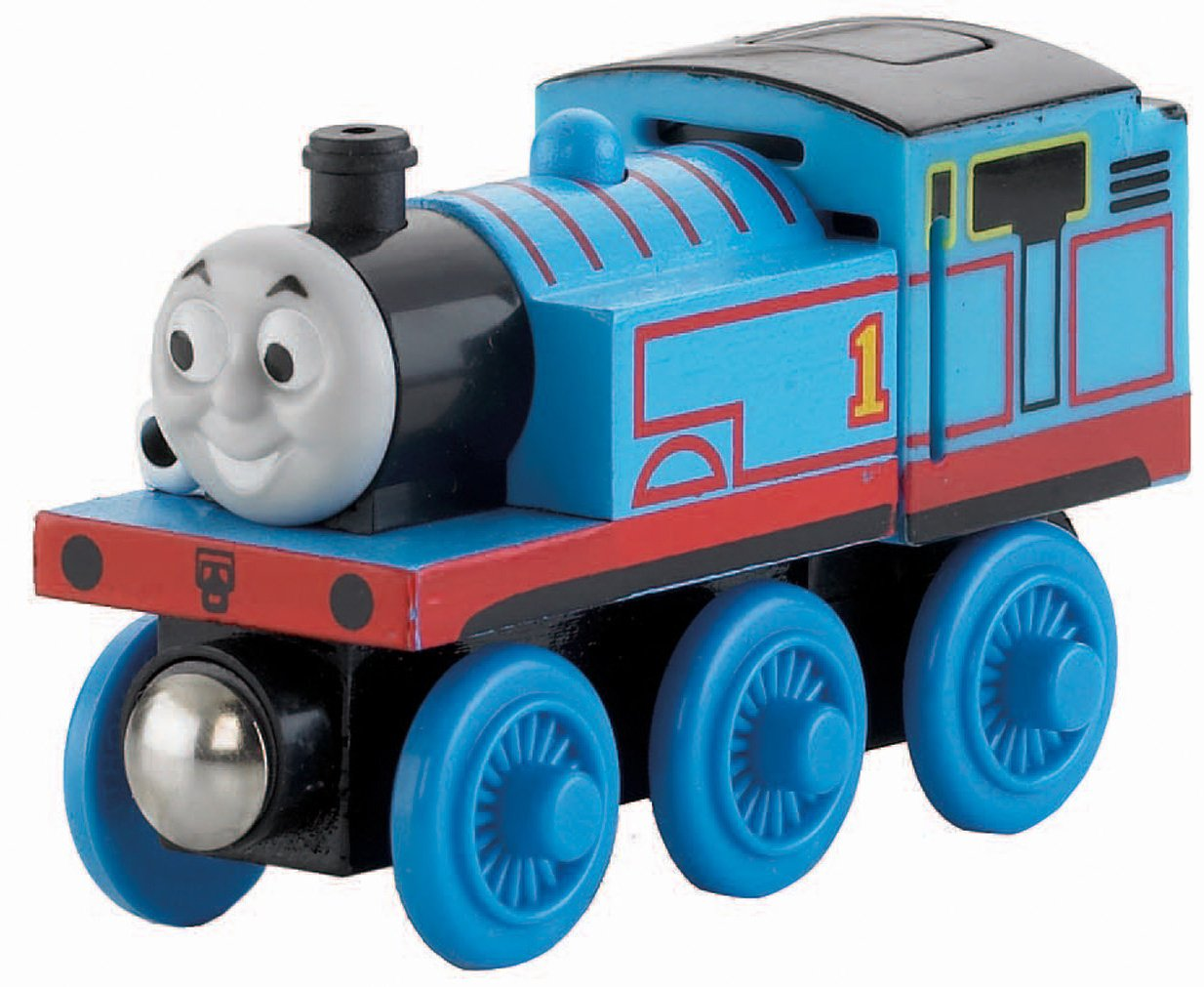 Thomas & Friends Fisher-Price Wooden Railway, Talking Thomas - Battery Operated
