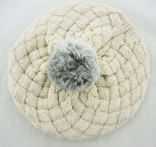 Amazon.com : Baby Hat Kids Baby Photo Props Beanie, faux Rabbit Fur ...