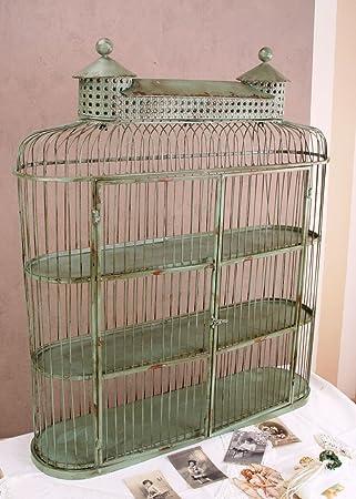 vintage home wandschrank hÄngeschrank shabby chic nostalgie ... - Nostalgie Küche