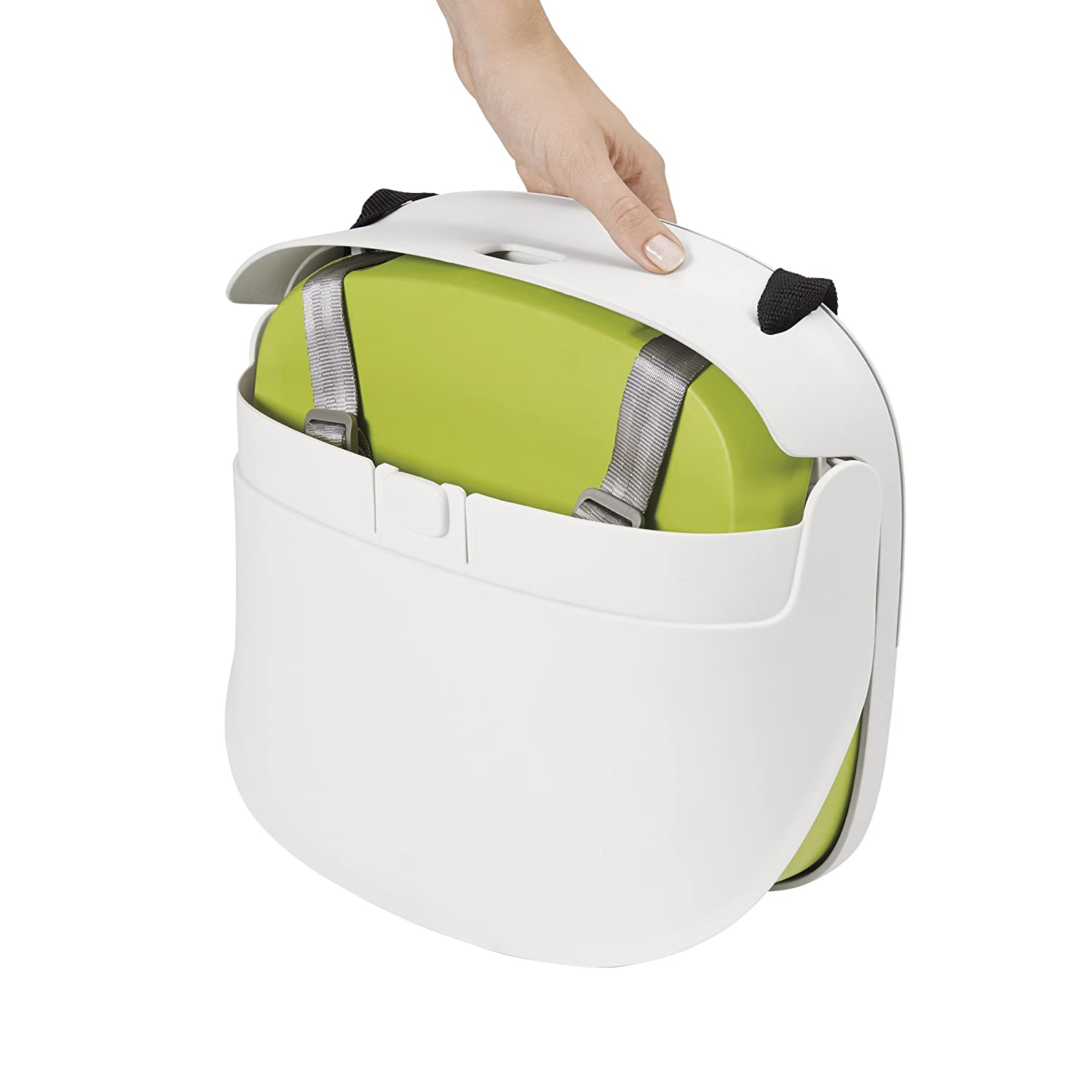 amazoncom  oxo tot perch booster seat with straps green  baby -