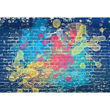 Amazon Com Leyiyi Colorful Wall Backdrop 8x6 5ft