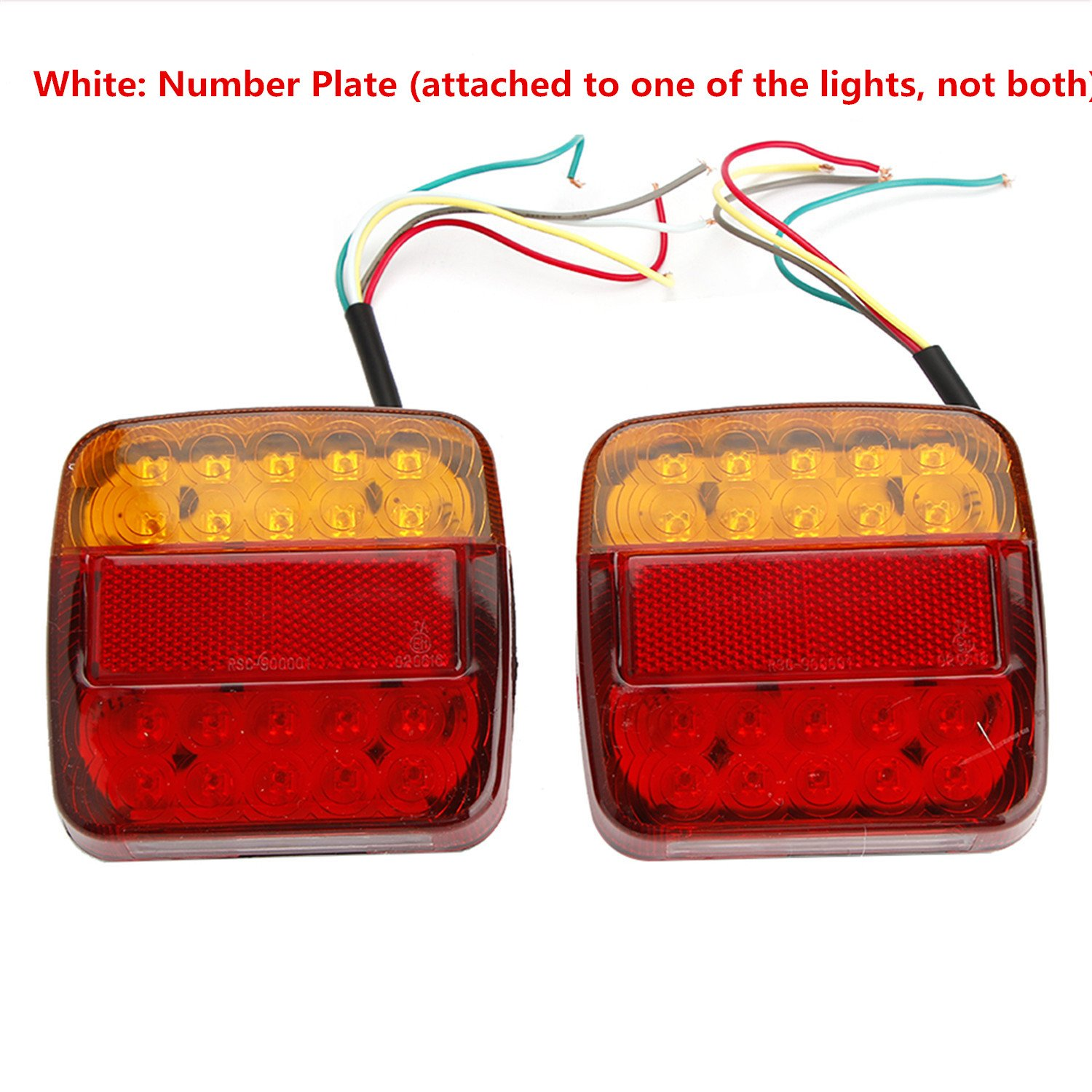 To Trace The Wire Here Is The Tail Light Diagram With The Brake Lights