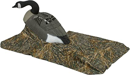 Amazon Com Wildfowler Goose Decoy Blind Skirt Shadow Grass Hunting Decoy Accessories Sports Outdoors