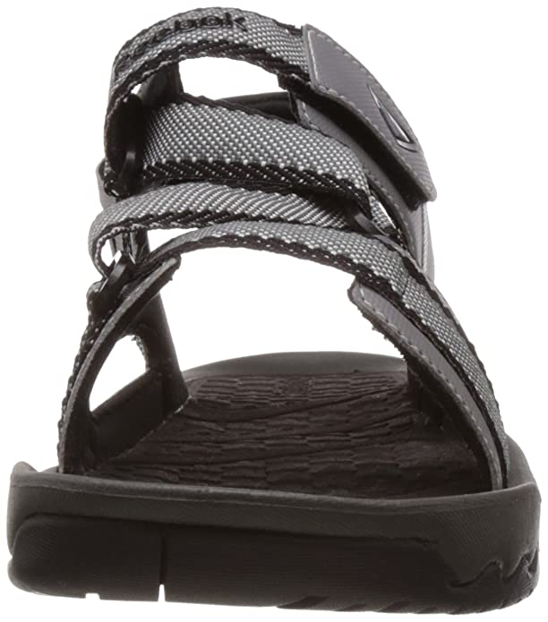 648873b206e4 Reebok Men s Trail Safari Grey and Black Sandals and Floaters - 11 UK  Buy  Online at Low Prices in India - Amazon.in