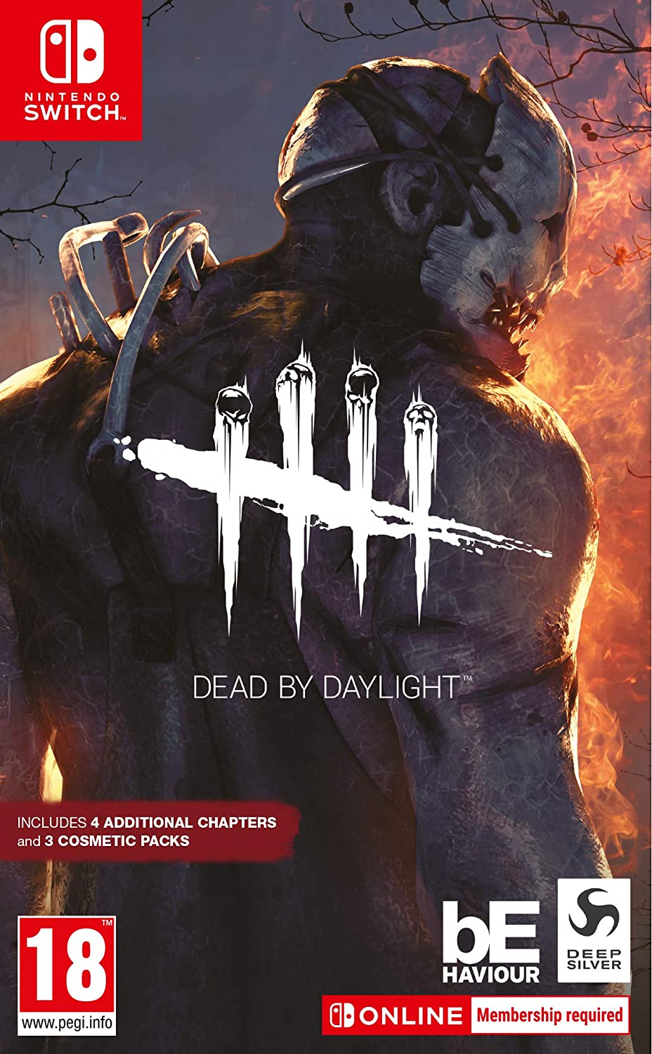 Dead By Daylight Nintendo Switch Amazon Co Uk Pc Video Games