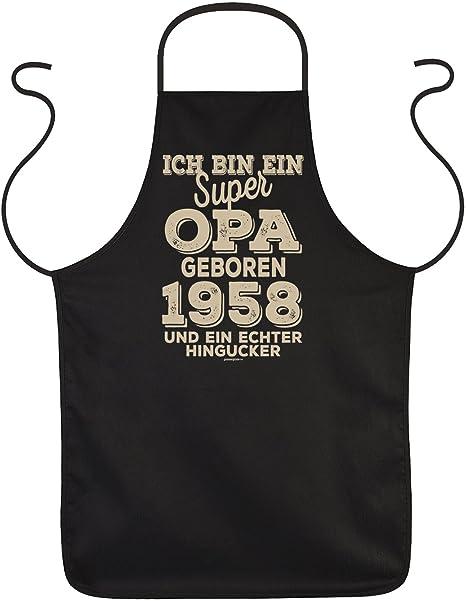 59 Buon Compleanno Per Opa Grembiule Super Opa Nato 1958 Regalo Di