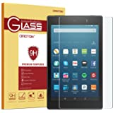 OMOTON All-New Fire HD 8 (2016 Release) Screen Protector, [9H Hardness] [Crystal Clear] [Bubble Free] Tempered Glass Screen Protector for Fire HD 8 Tablet (6th Gen 2016 5th Gen 2015)