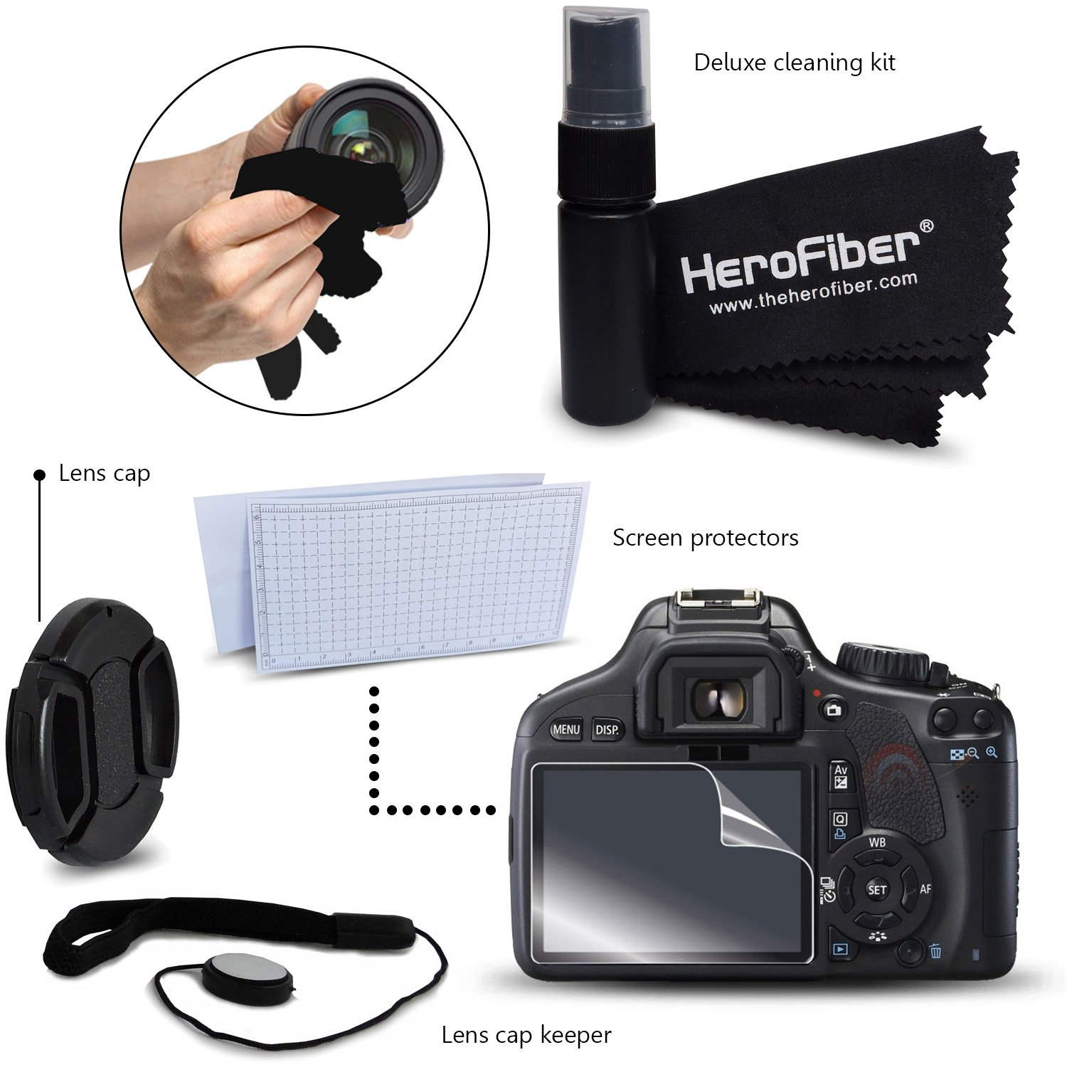 Ideal Accessory Kit for Canon Powershot SX160 IS, SX150 IS, SX130 IS, SX120 IS, SX110 IS, SX100 IS, SX20 IS, SX10 IS, SX5 IS, SX3 IS, SX2 IS, SX1 IS, A2100 IS, A2000 IS, A1400 Digital Cameras Includes 16GB High Speed Memory Card + 4 AA High Capacity 3100m