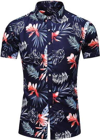Sylar Camisa Hawaiana Manga Corta para Hombre Camisas de Playa T-Shirt Tallas Grandes Verano Original Estampado de Flores Blusas Tops L-XXXXXXXL: Amazon.es: Ropa y accesorios