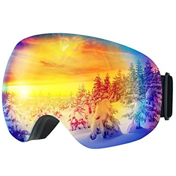41e8a5762cd1  Anti-Fog   OTG Design   Ski Goggles