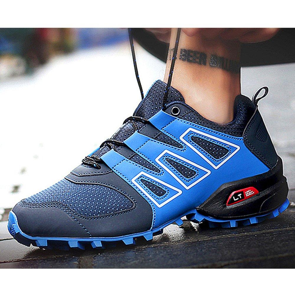 Zapatos Zapatos Zapatos De Trail Running LadiesTrail Runner Zapatos Cómodos Antideslizantes para Hombres Clásicos Zapatos De Montaña De Gran Tamaño Antideslizantes para Caminar,Azul-40 cc81ee