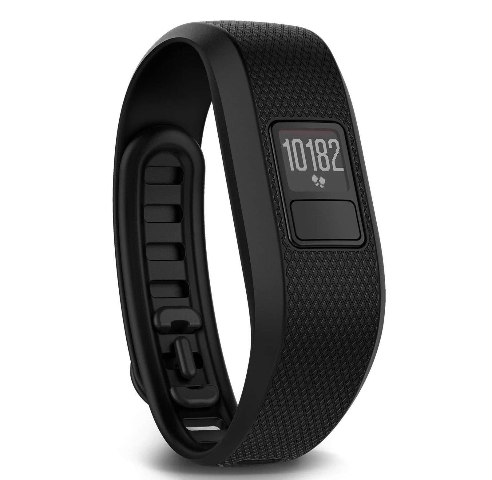 MRT SUPPLY Vivofit 3 Running Activity Monitor Band Fitness Tracker, Regular Black with Ebook