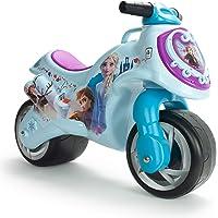 INJUSA Disney Elsa y Ana Moto Correpasillos Neox