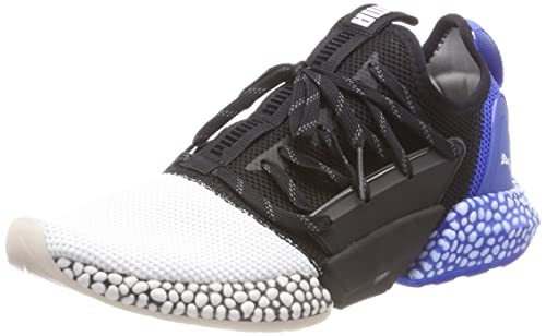 a5fcbd0db64c Puma Men s Hybrid Rocket Runner White Black-Strong Blue Running Shoes-6 UK