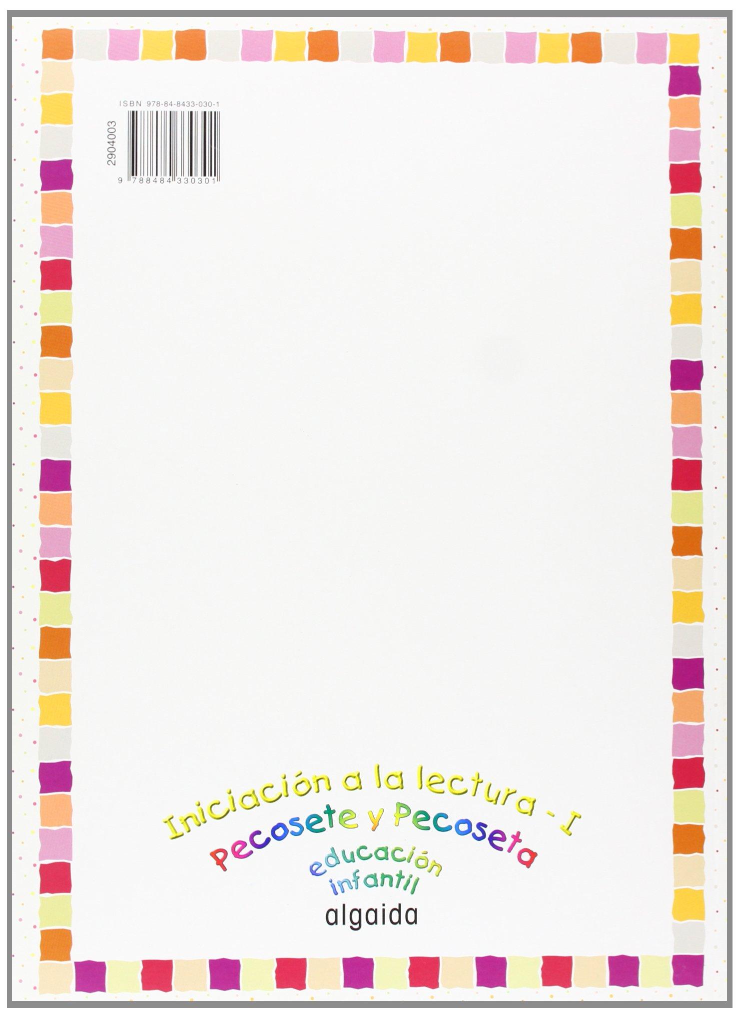 Iniciación a la lectura I Nuevo Pecosete y Pecoseta - 9788484330301:  Amazon.es: María Dolores Campuzano Valiente: Libros