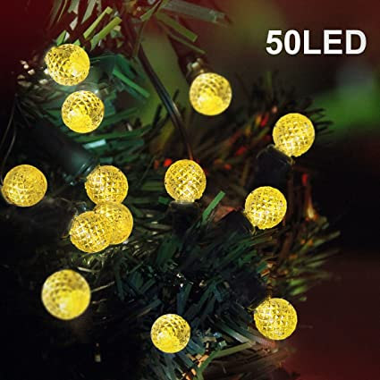 binval g12 summer string lights solar powered for outdoor patio lawn landscape garden home wedding holiday