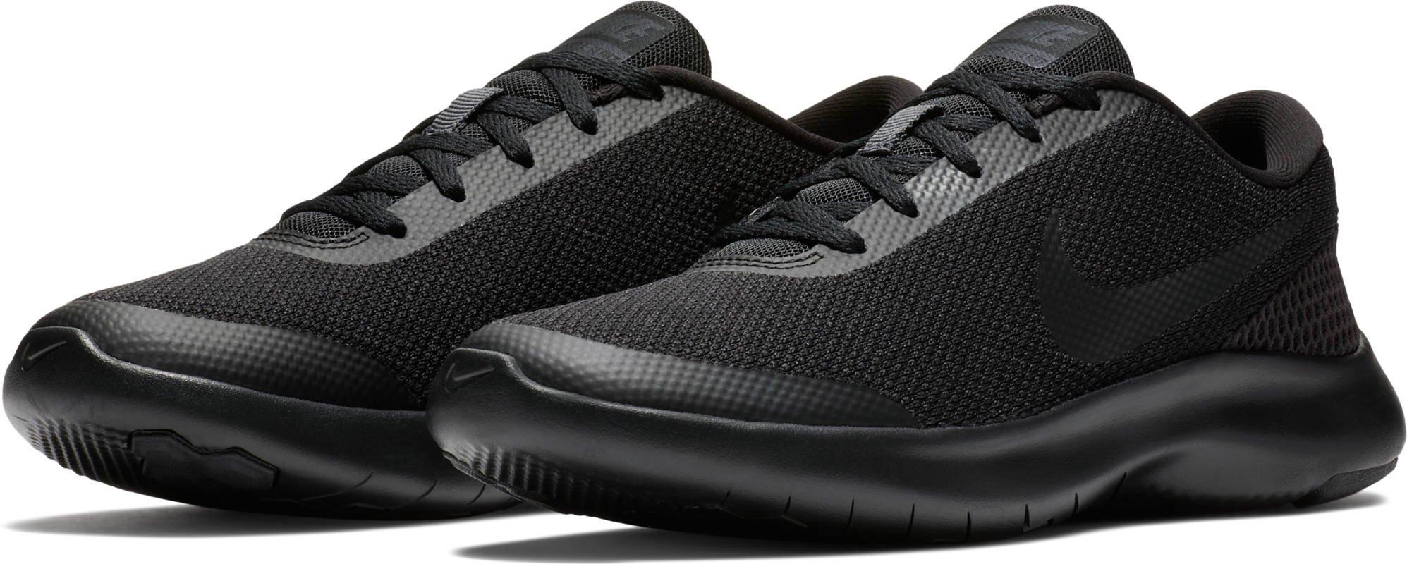 NIKE Women's Flex Experience RN 7 Running Shoes (7.5 B US, Black/Black-anthacite)