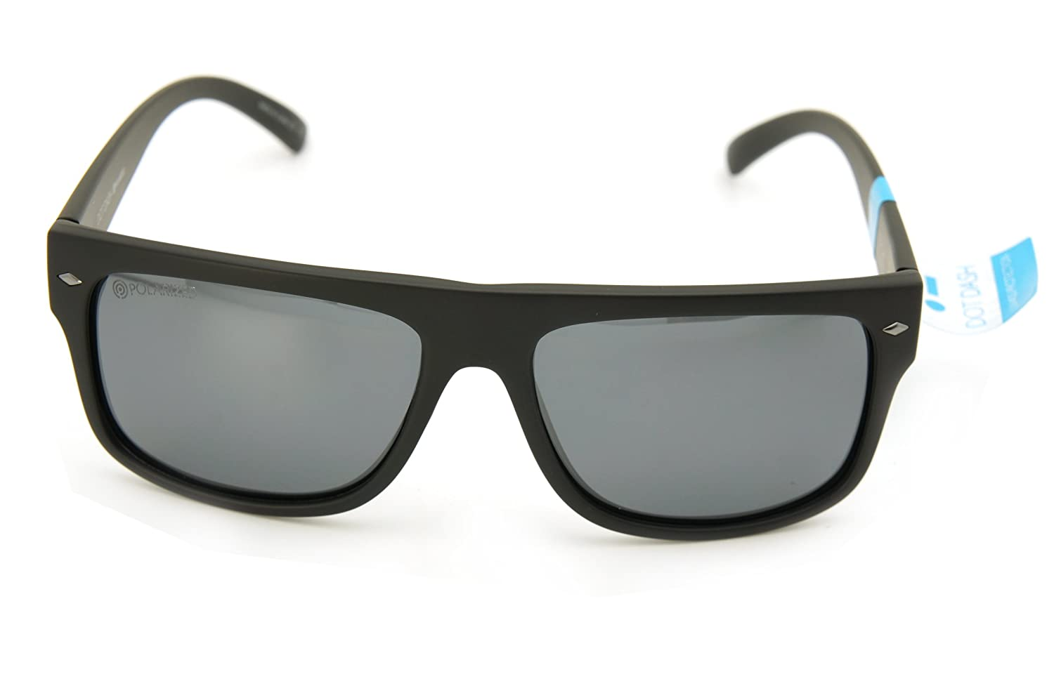 ab85a1fc108 Amazon.com  Dot Dash Sunglasses SIDECAR New color (matte black light silver  mirror lenses)  Clothing