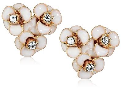 2775b66965a2ac Amazon.com: kate spade new york Womens Flower Cluster Stud Earrings ...