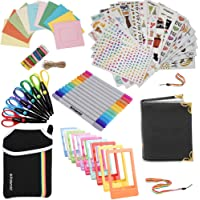 Holiday Accessory Gift Bundle FOR HP Sprocket, Prynt Instant Printer - Pouch + Edged Scissors + Album + 10 Colour Frames + 7 Colourful Sticker Sets + Twin Tip Markers + Hanging Frames +Neck/Hand Strap