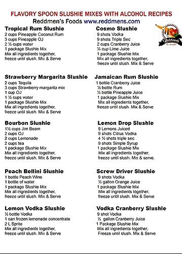 Flavory Cuchara Mango Pasión Frutas Vino Slushie Mix: Amazon ...