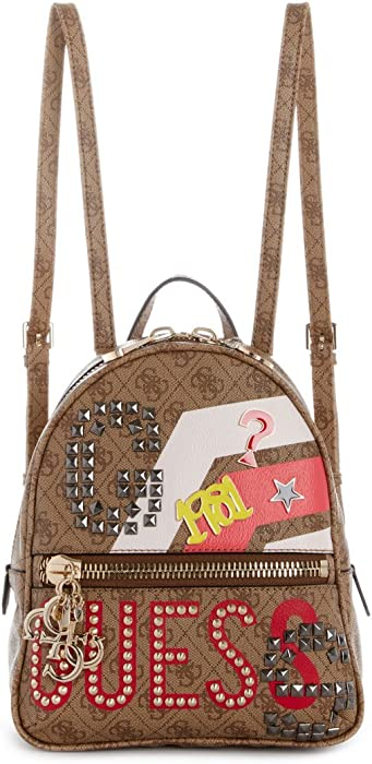 Guess URBAN CHIC MINI BACKPACK (braun) Rucksäcke bei