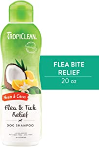 TropiClean Shampoos for Pets, Made in USA